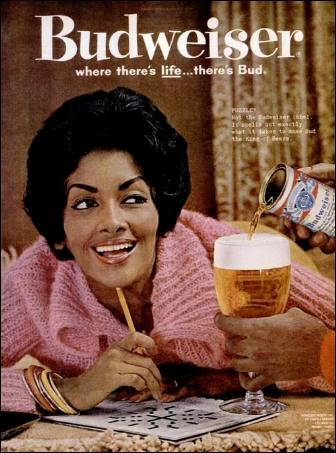 Budweiser woman